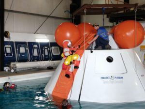 Project PoSSUM training spacecraft