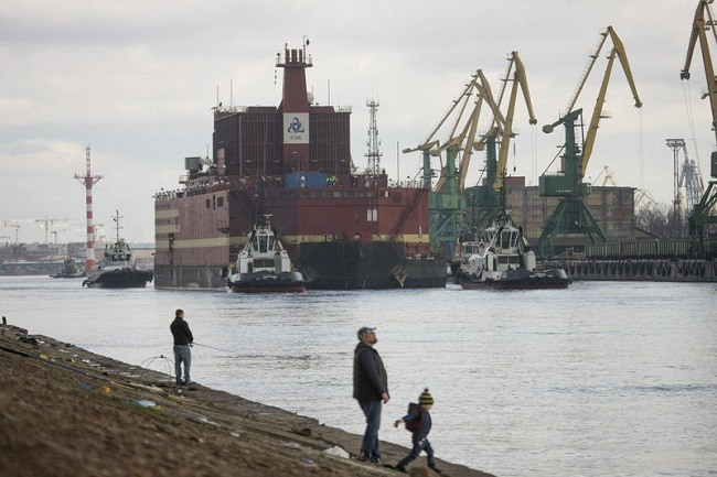 Russia Launched Its Arctic-Bound