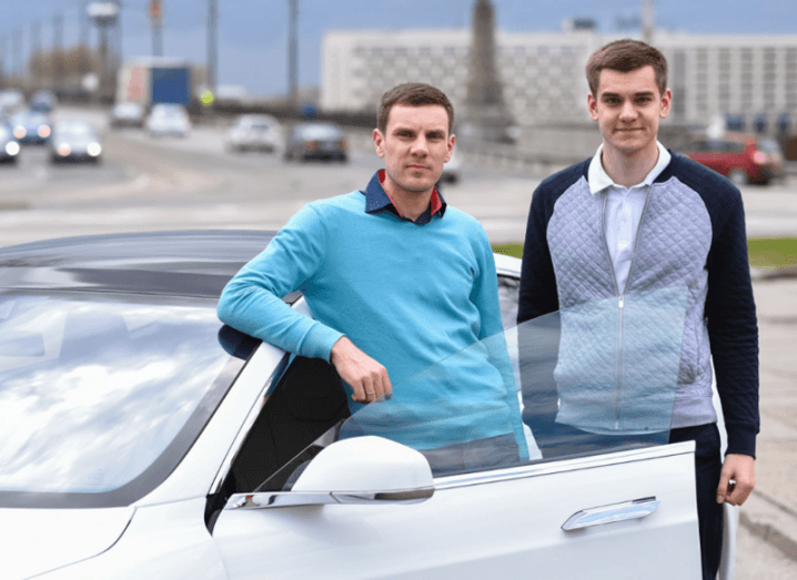 Taxify founders Martin Villig and Markus Villig. Image: Taxify