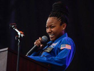 With dreams of making it into space, this girl is a real inspiration