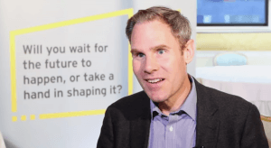 Laurence Buchanan, lead partner for digital with EMEIA advisory at EY. Image: Connor McKenna