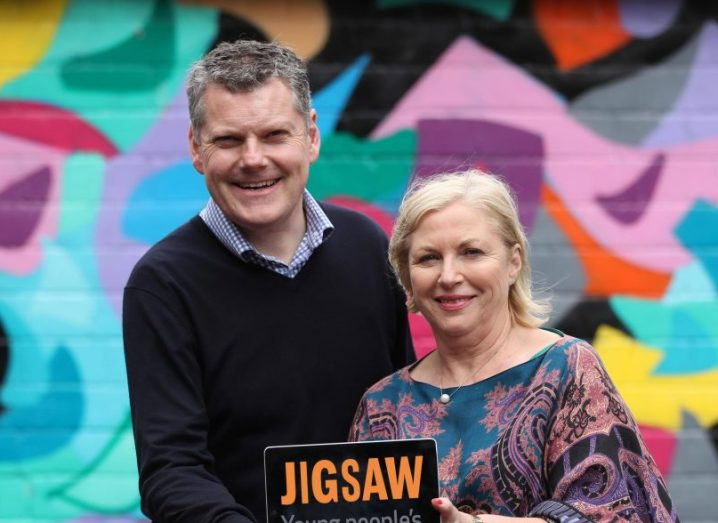From left: Dr Joseph Duffy and Liz O'Donnell