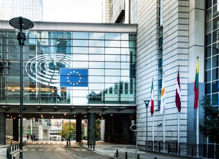 EU parliament building, Brussels
