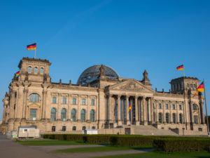German parliament buildings