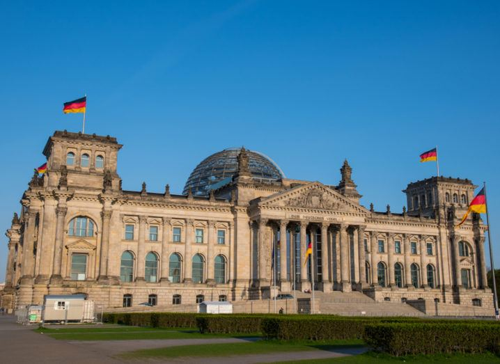 German parliament buildings