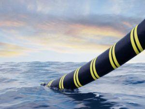 submarine cable installation