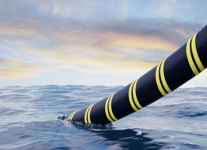 submarine cable installation