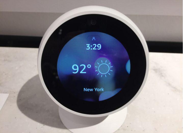Amazon Echo Spot device