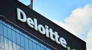 Deloitte sign in Warsaw, Poland. Image: Grand Warsawski/Shutterstock.