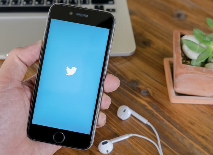 Twitter app on mobile