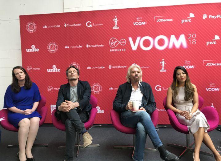 Voom winner and judges