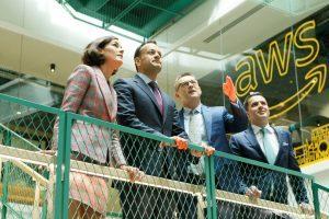 Taoiseach Leo Varadkar at opening of Amazon building