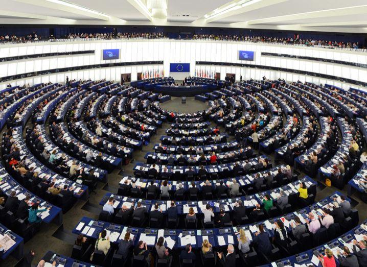 EU council chamber