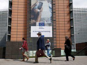 EU mobile data roaming poster. Image: Alexandros Michailidis