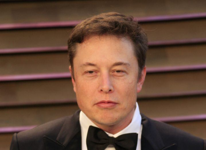 Picture of Tesla CEO Elon Musk