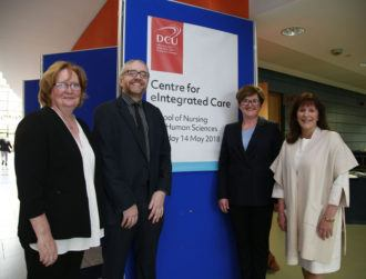 What will DCU's Centre for eIntegrated Care do for Irish healthcare?