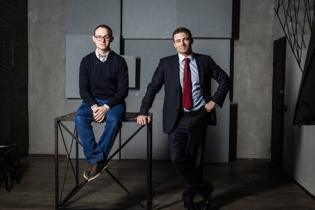Alexander Dunaev, co-founder and COO and Boris Batine, co-founder and CEO