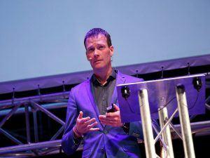 John Cormican speaking at Inspirefest 2018