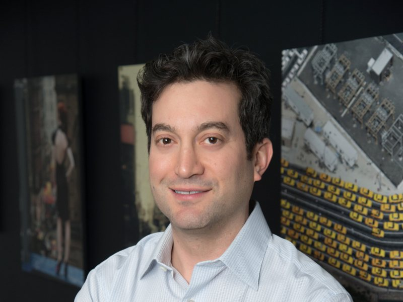 Picture of Jon Oringer, founder and CEO of Shutterstock