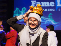 Who was crowned champion at FameLab International 2018?