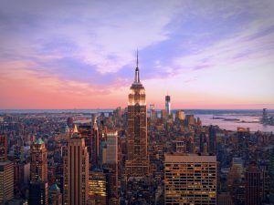 Image of Manhattan skyline