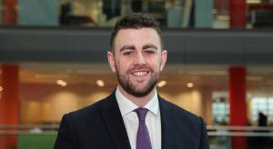 Shane McCallion, a member of the technology consultants team at PwC. Image: PwC