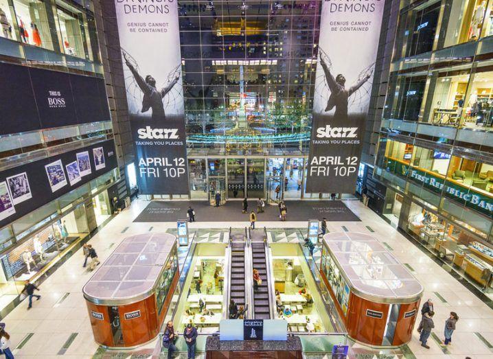 Inside the Time Warner Center, New York. Image: Sean Pavone/Shutterstock