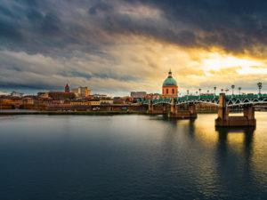 Picture of Toulouse city