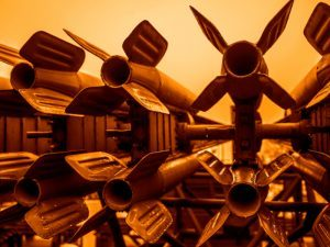 Stockpile of warheads