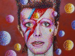 Ziggy Stardust drawing