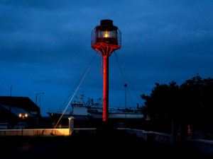 Albatross light house in Arklow Wicklow where 900,000th premises was passed by Virgin's project lightning