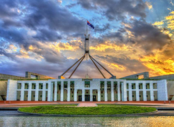 Australian parliament building, Canberra