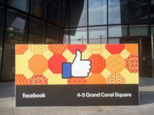 Facebook's Dublin Office in Grand Canal Square. Image: Noel Bennett/Shutterstock