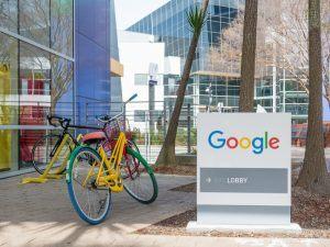 Google campus in Mountainview, California