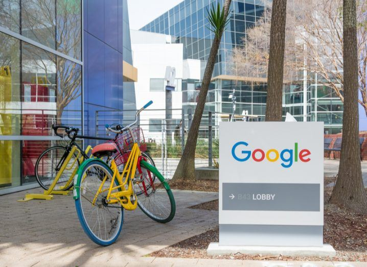 Google campus in Mountainview, California