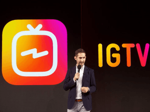 Kevin Systrom launching IGTV
