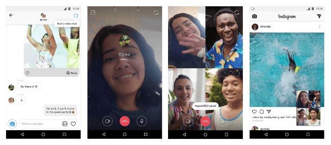Intagram's new video calls feature