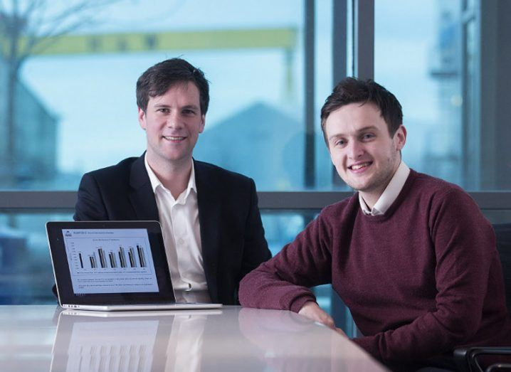 Orca Money co-founders Iain Niblock and Jordan Stodart. Image: Orca Money