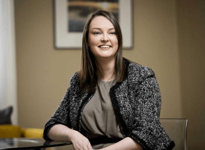 The new director general of the Irish Venture Capital Association, Sarah-Jane Larkin. Image: IVCA