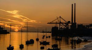 Sunrise at Dublin Port. Image: Paul Daly/Shutterstock.com EY report on economic growth in ROI and NI