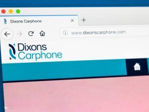 Dixons Carphone website