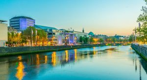 View of the River Liffey,Dublin