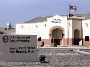 US Border Patrol station in Texas