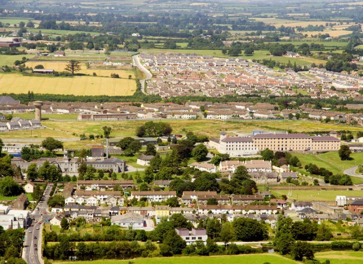 aerial view of Clonmel