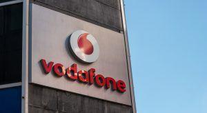 Vodafone logo. Image: r.classen/Shutterstock.