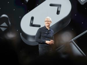 Apple CEO Tim Cook kicks off WWDC 2018. Image: Apple