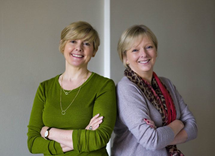 CloudKPI co-founders Brenda Jordan and Maeve Kneafsey. Image: CloudKPI