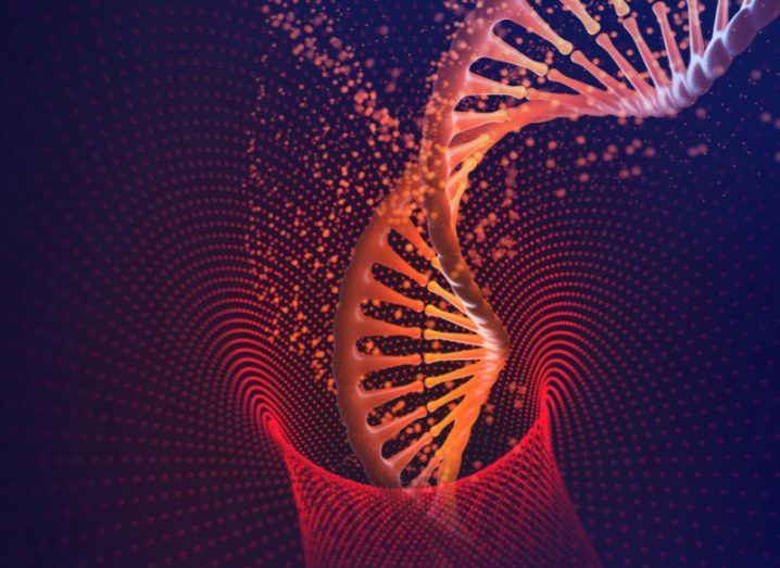 DNA helix edited using CRISPR
