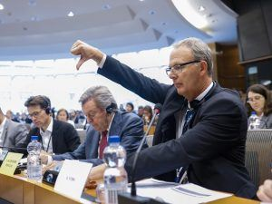 MEP voting no during copyright bill for the Digital Single Market