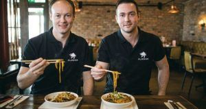 Flipdish co-founders Conor and James McCarthy. Image: Flipdish